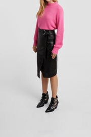 Rebecca Minkoff Lillian Pink Sweater - Front cropped