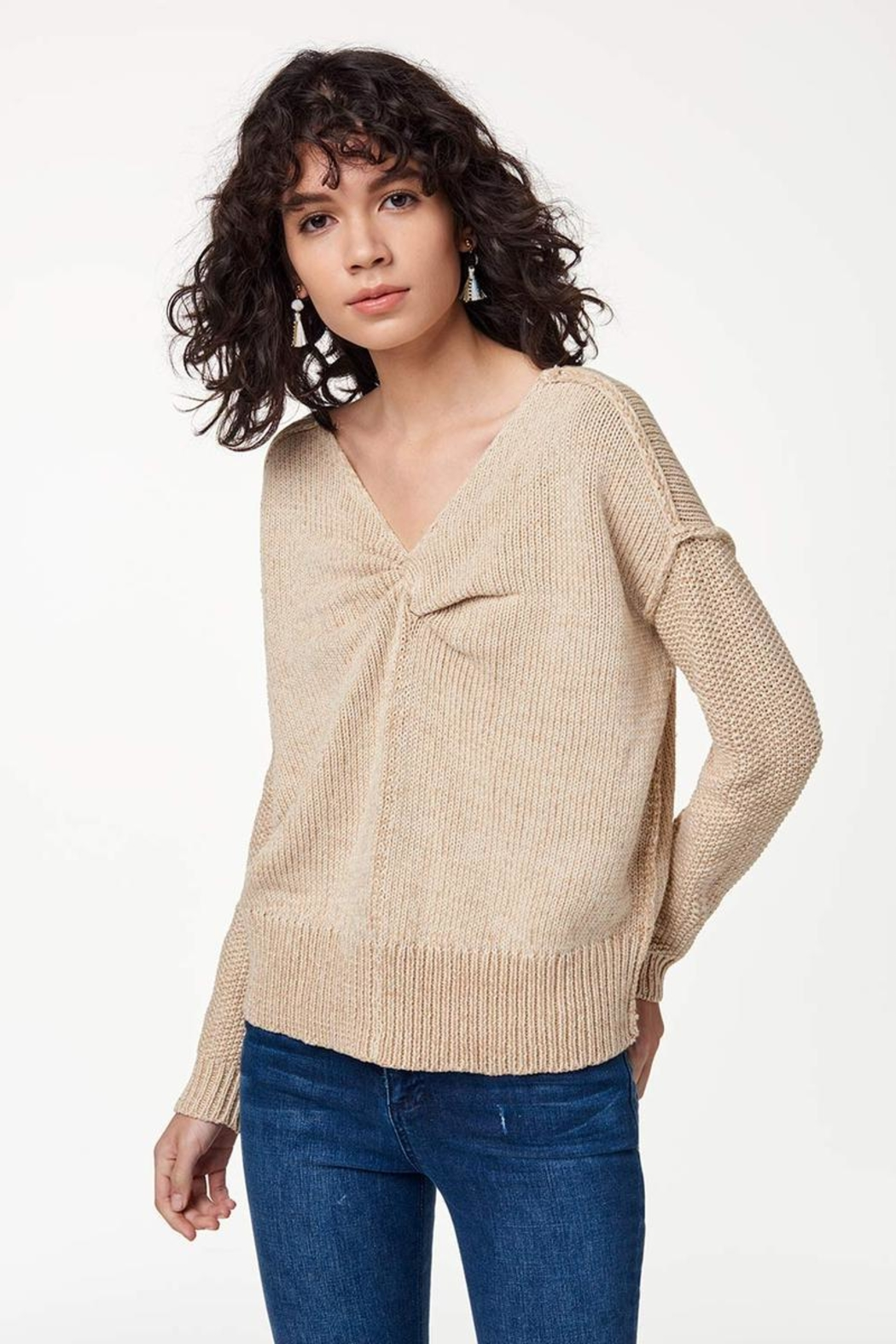Rebecca Minkoff Lola Reversible Sweater - Front Full Image