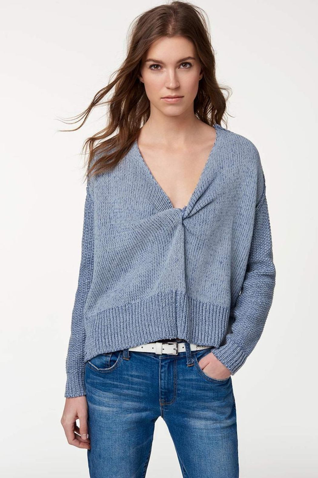 Rebecca Minkoff Lola Reversible Sweater - Front Cropped Image