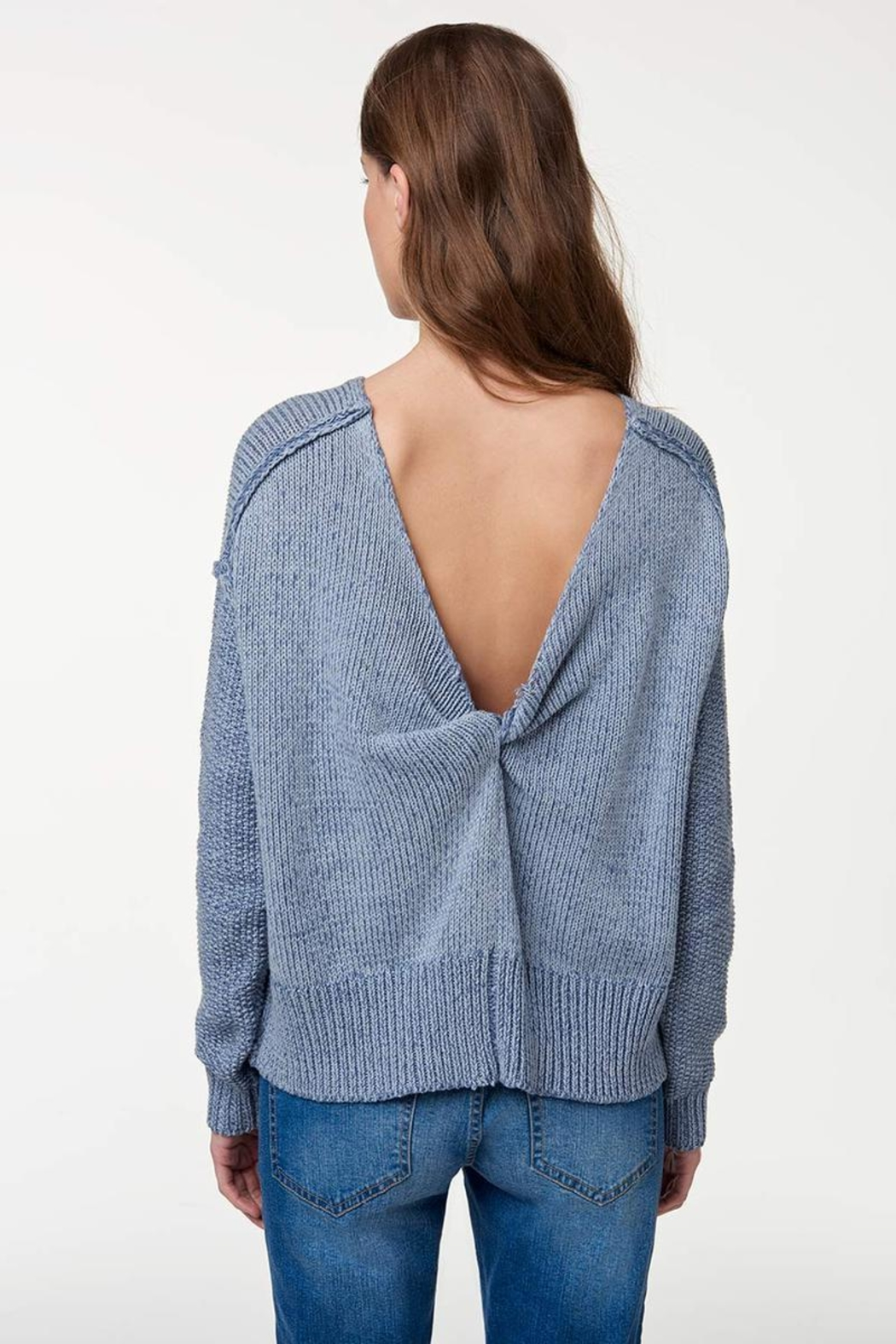 Rebecca Minkoff Lola Reversible Sweater - Back Cropped Image
