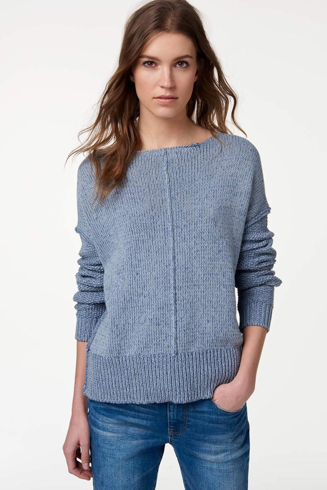 Rebecca Minkoff Lola Reversible Sweater - Side Cropped Image