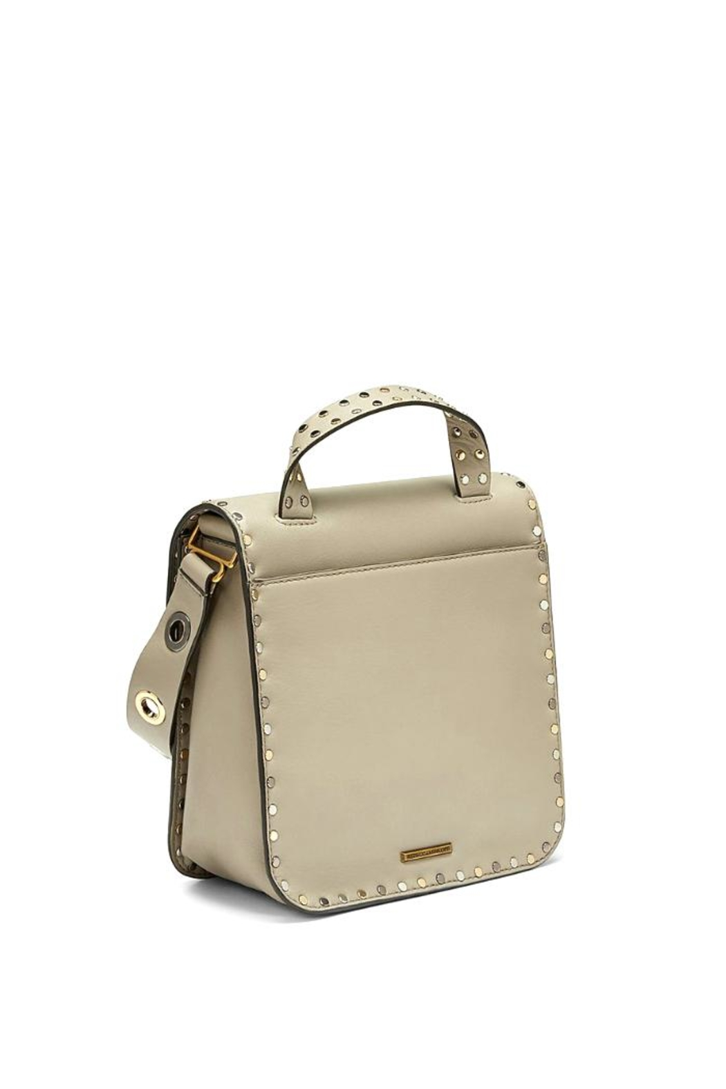 Rebecca Minkoff Midnighter Top-Feed Bag - Side Cropped Image