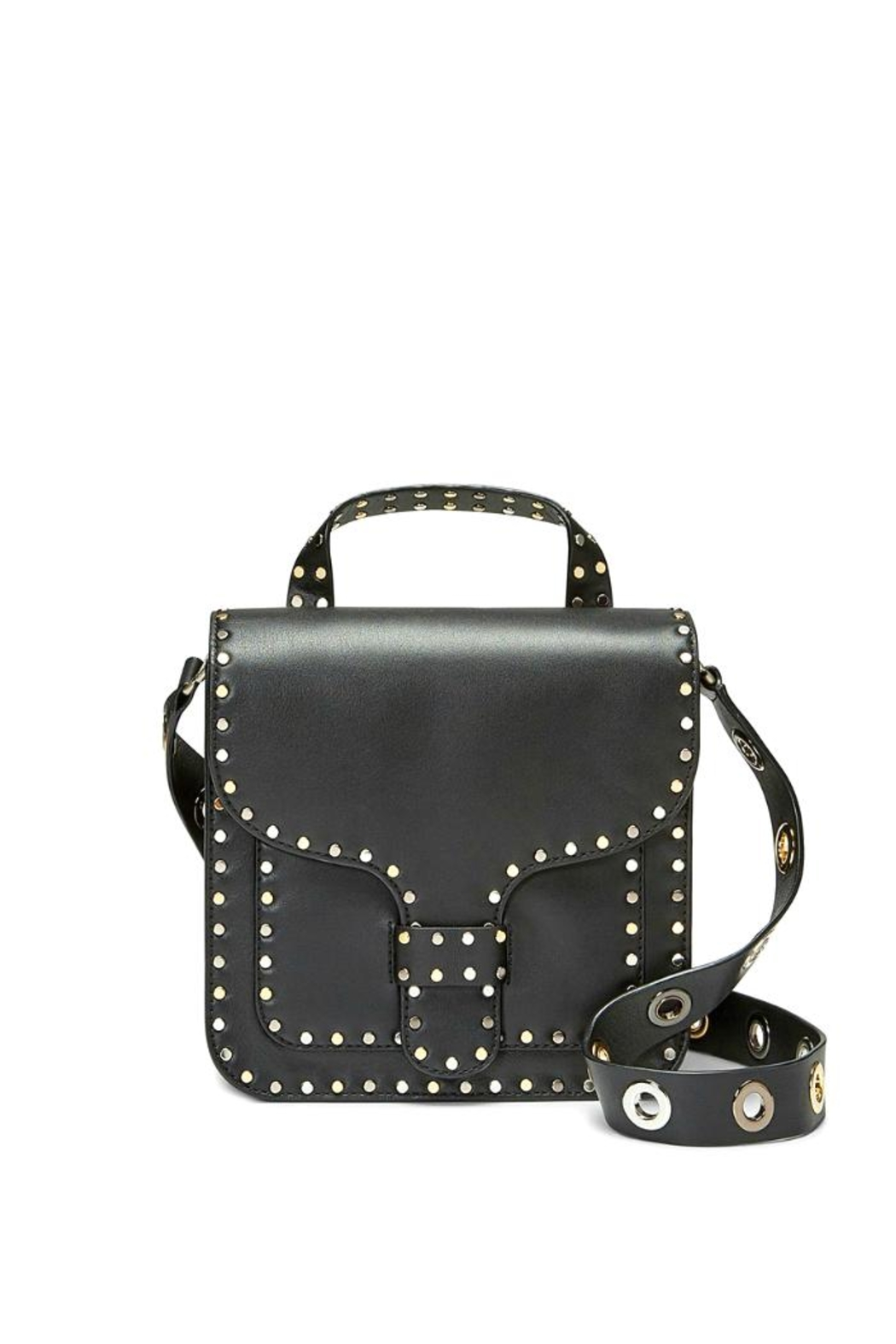 Rebecca Minkoff Midnighter Top-Feed Bag - Front Cropped Image