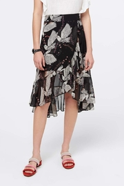 Rebecca Minkoff Printed Ruffle Skirt - Product Mini Image