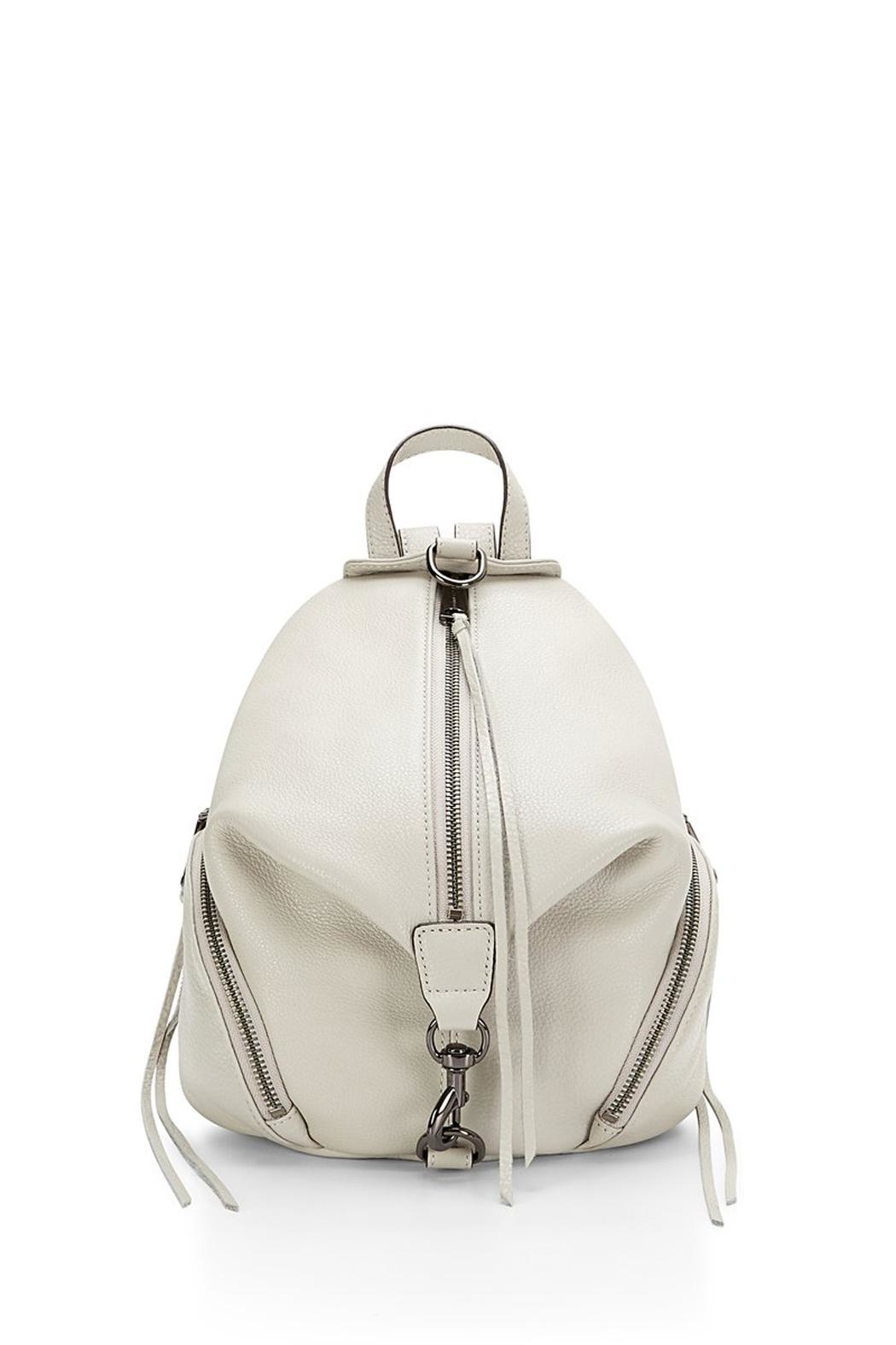 Rebecca Minkoff Putty Julian Backpack - Front Cropped Image