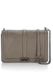 Rebecca Minkoff Quilted Love Jumbo Bag From New York By
