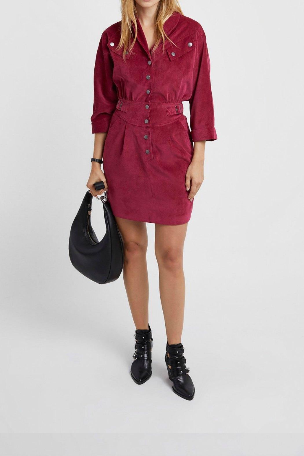 Rebecca Minkoff Rosa Soft-Cord Dress - Front Cropped Image