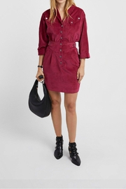 Rebecca Minkoff Rosa Soft-Cord Dress - Front cropped