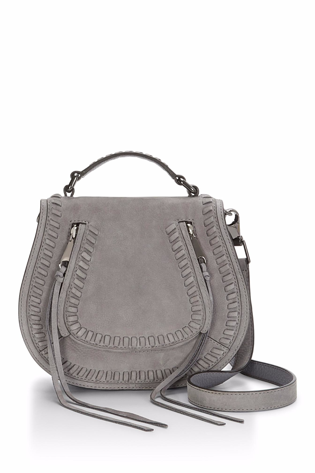 Rebecca Minkoff Small Vanity Saddle Bag - Front Cropped Image
