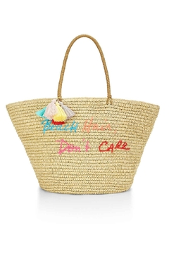 Rebecca Minkoff Straw Beach Tote - Alternate List Image