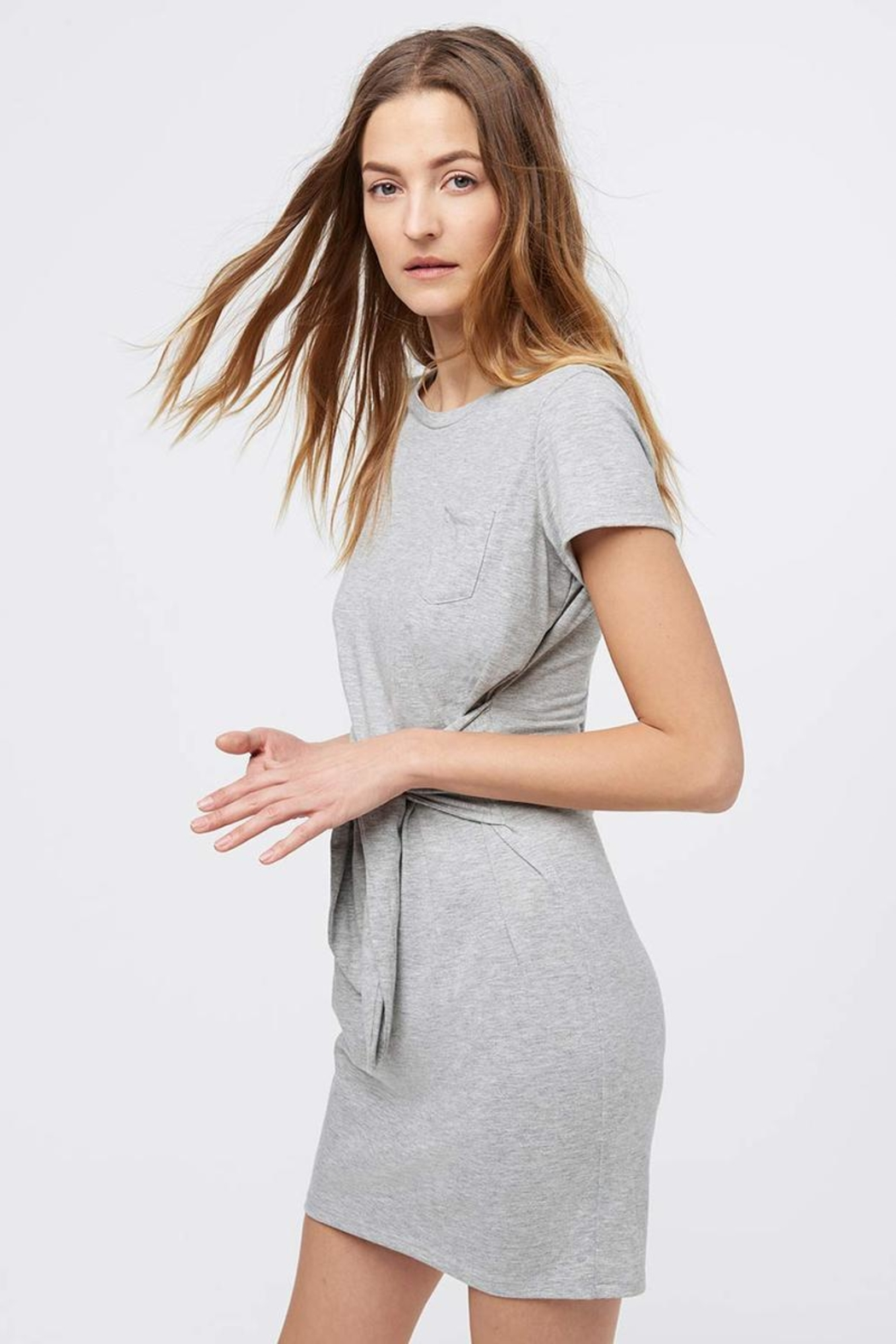 Rebecca Minkoff Tie Front Dress - Front Full Image