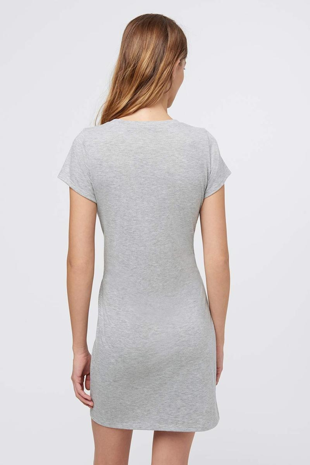 Rebecca Minkoff Tie Front Dress - Back Cropped Image
