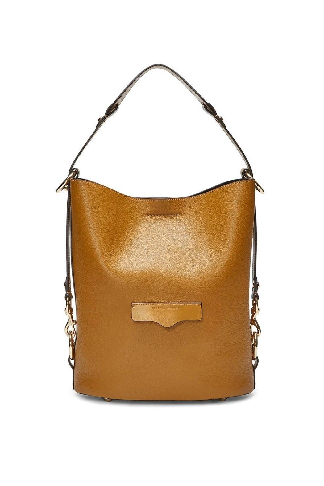 Rebecca Minkoff Utility Convertible Bucket-Bag - Front Cropped Image