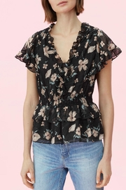 Rebecca Taylor Daniella Burnout Top - Product Mini Image