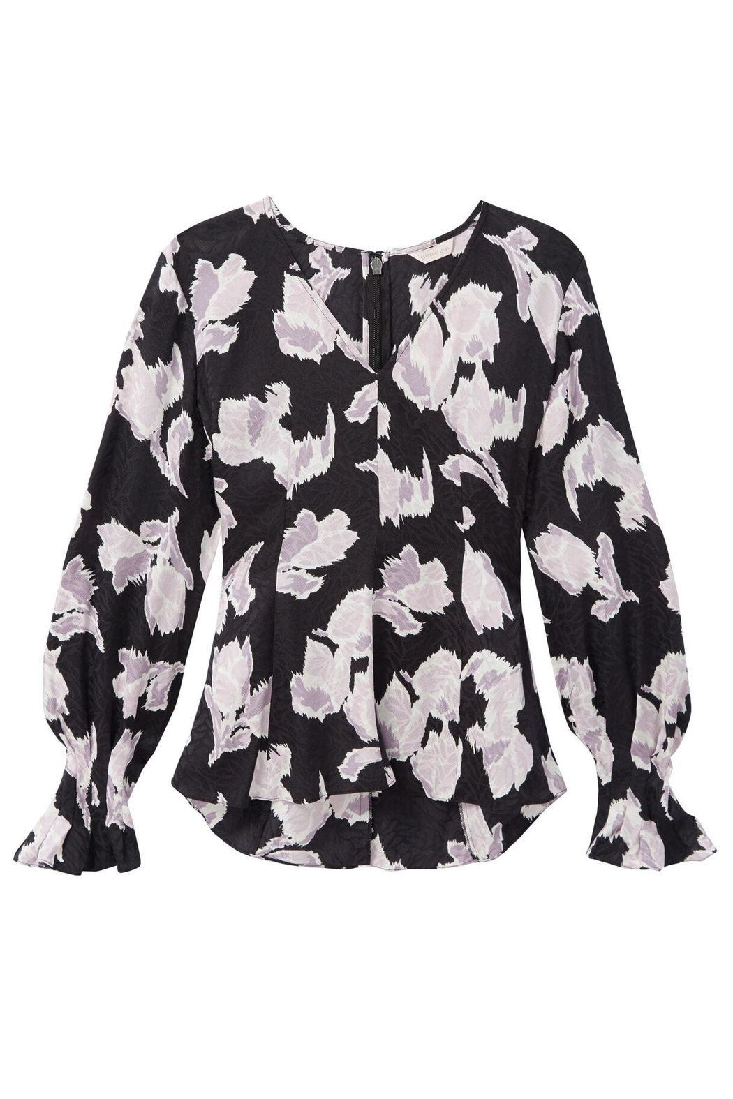 Rebecca Taylor Ikat Blossom Blouse - Front Full Image