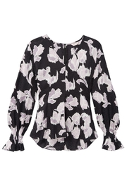 Rebecca Taylor Ikat Blossom Blouse - Front full body