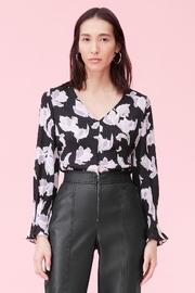 Rebecca Taylor Ikat Blossom Blouse - Product Mini Image