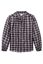 Rebecca Taylor Lame Plaid Top - Front full body