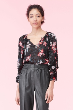 Rebecca Taylor Noha Floral Blouse - Product List Image