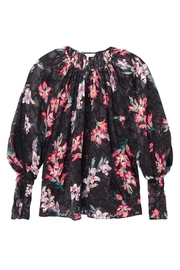 Rebecca Taylor Noha Floral Blouse - Front full body
