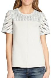 Rebecca Taylor Perforated Leather Top - Product Mini Image