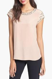 Rebecca Taylor Tee With Embellishment - Product Mini Image