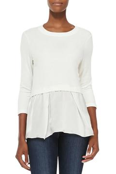 Shoptiques Product: Terry Top Ruffle