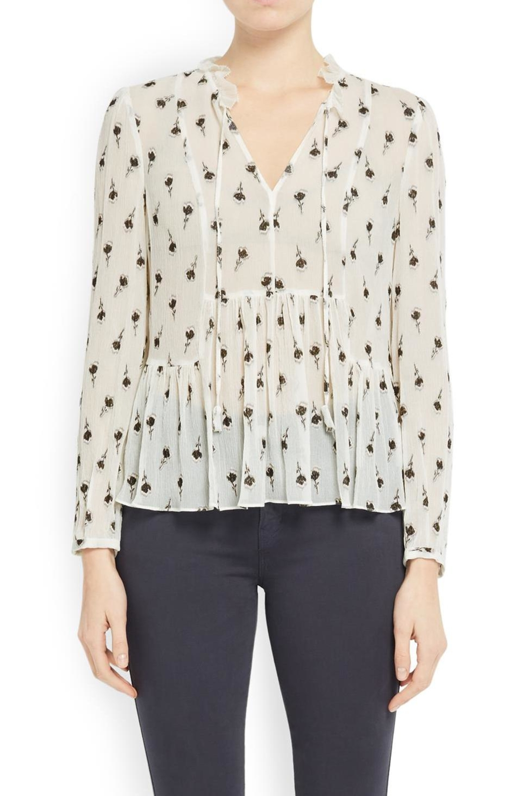 3dc266f99b8a3 Rebecca Taylor Tulip Clip Blouse from Dallas by Pax   Parker ...