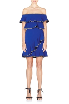 Shoptiques Product: Blue Billie Ruffle Dress