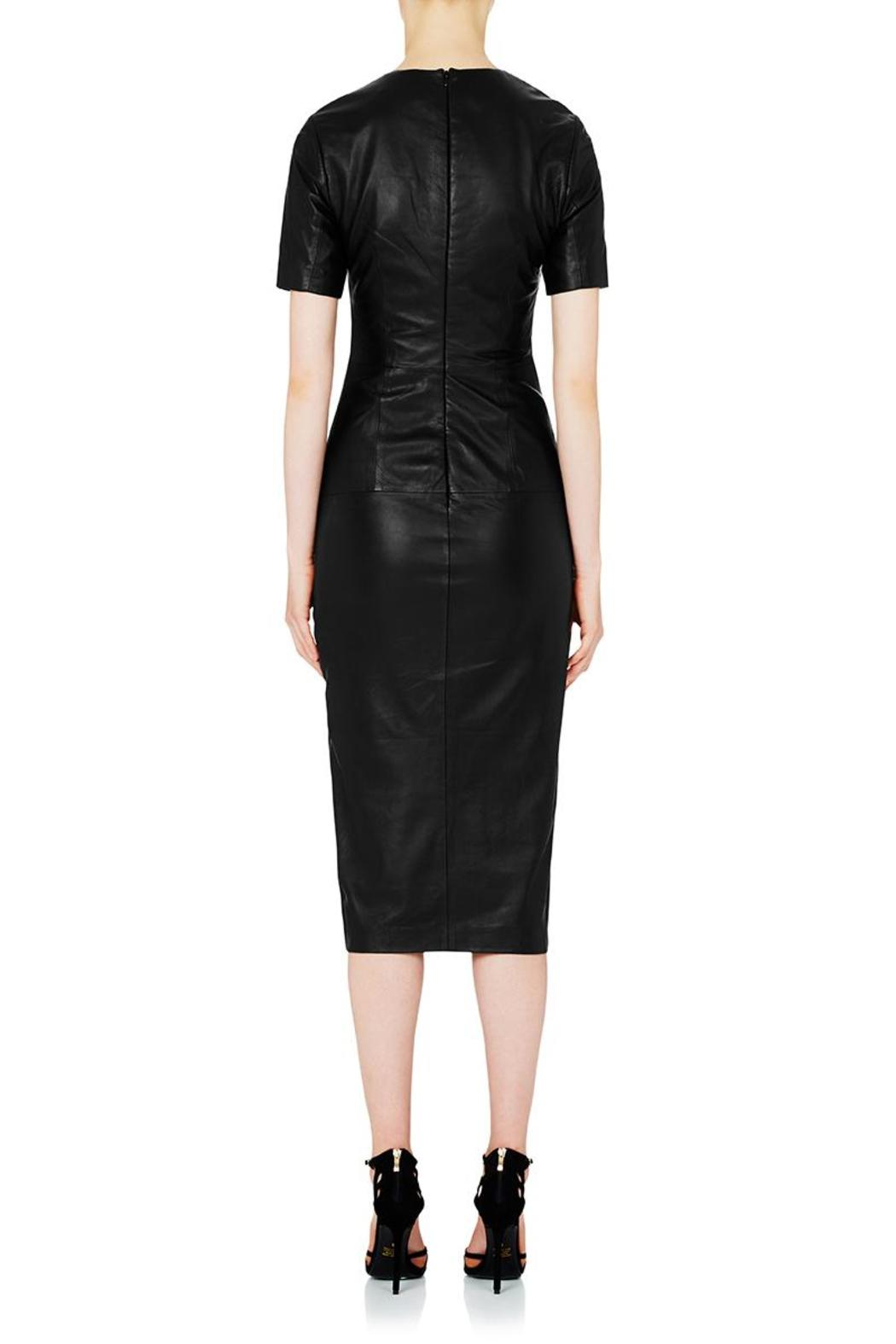 Rebecca Vallance Jane Fonda Leather Dress From Toronto By