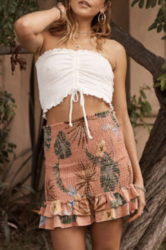 SAGE THE LABEL Rebel with a Cause Tube Top - Alternate List Image