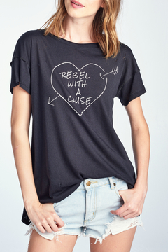 Knit Riot Rebel with Cause  S/S Tee - Alternate List Image