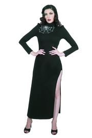 Rebel Love Clothing Araneum Maxi Dress - Front cropped