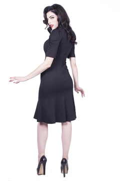 Rebel Love Clothing Jezebel Wiggle Dress - Alternate List Image
