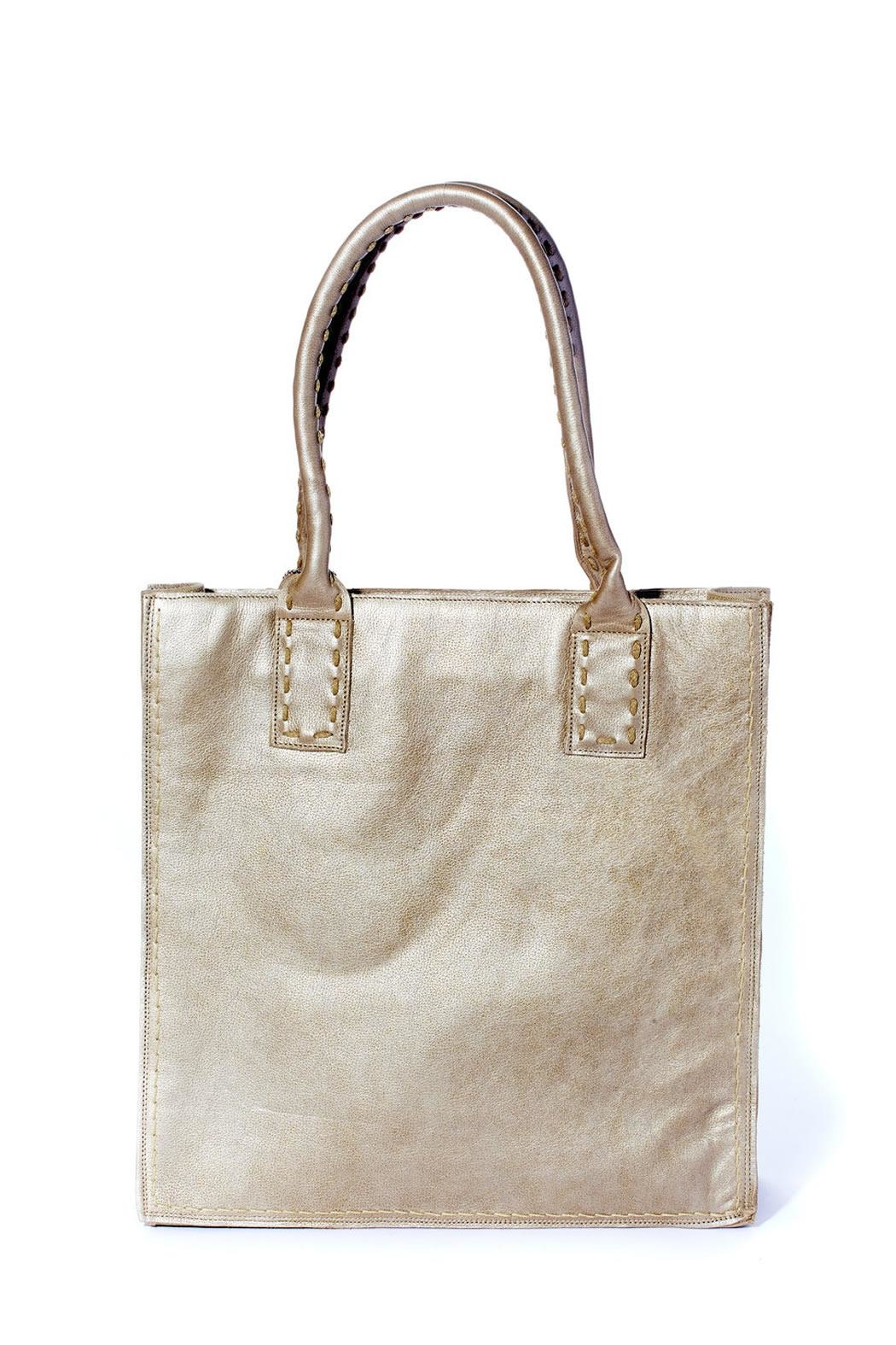 Rebel With Cause Gold Braided Bag - Front Full Image