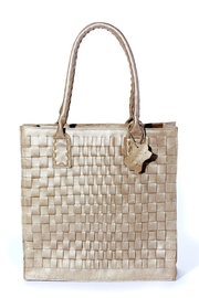 Rebel With Cause Gold Braided Bag - Product Mini Image