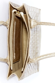 Rebel With Cause Gold Braided Bag - Back cropped