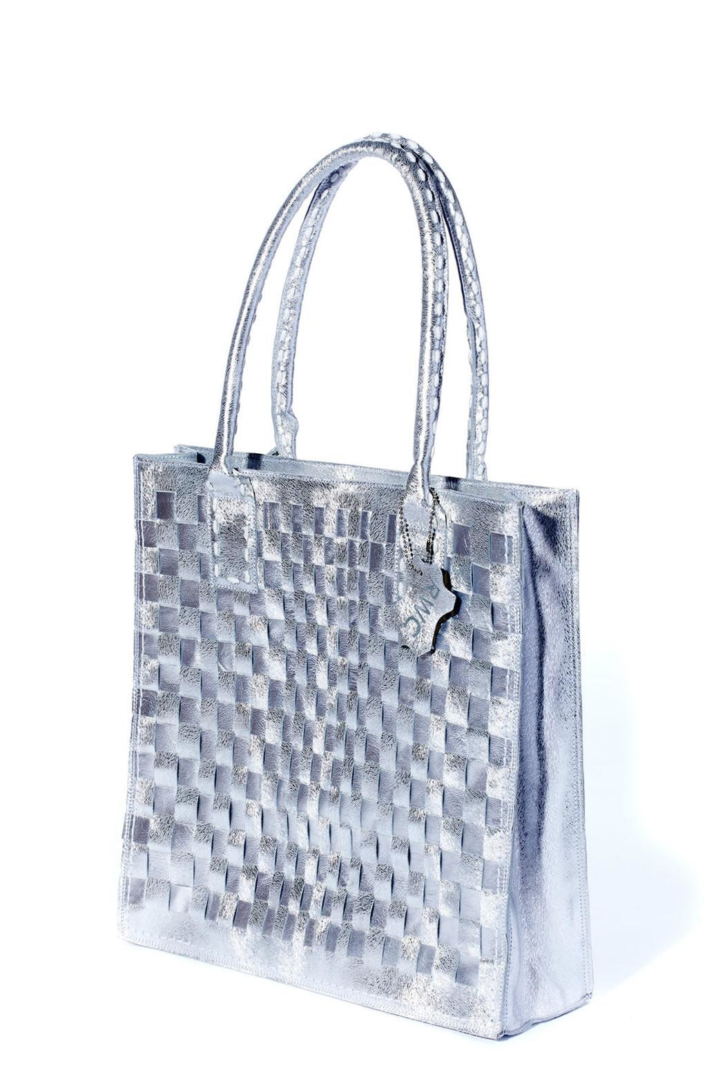 Rebel With Cause Silver Braided Bag - Side Cropped Image