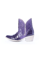 Rebel With Cause Tcu Purple Boots - Product Mini Image