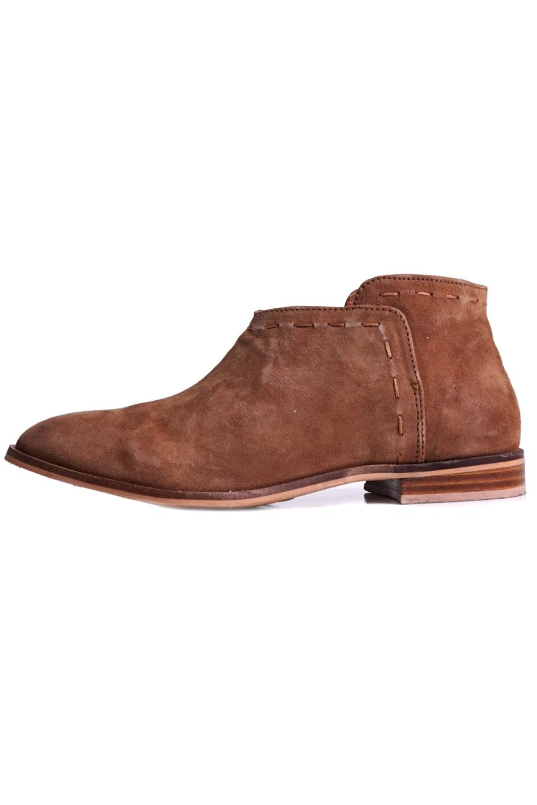 Suede Odell Bootie