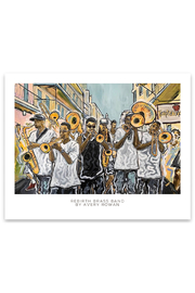 Avery Rowan Art Rebirth Brass Band Print 11x14