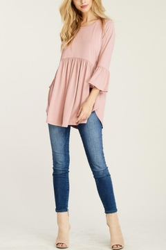 Shoptiques Product: Bell-Sleeve Babydoll Tunic