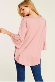 Reborn J Bell Sleeve Tunic - Side cropped