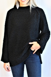 Reborn J Black Popcorn Sweater - Product Mini Image
