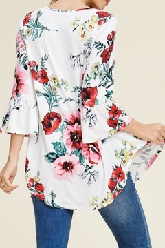 Reborn J Floral Babydoll Tunic - Alternate List Image