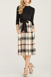 Reborn J Plaid Two-Piece Dress - Product Mini Image