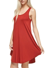 Reborn J Scoopneck Tank Dress - Product Mini Image