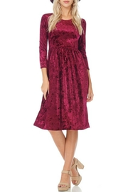 Reborn J Velvet Holiday Dress - Product Mini Image