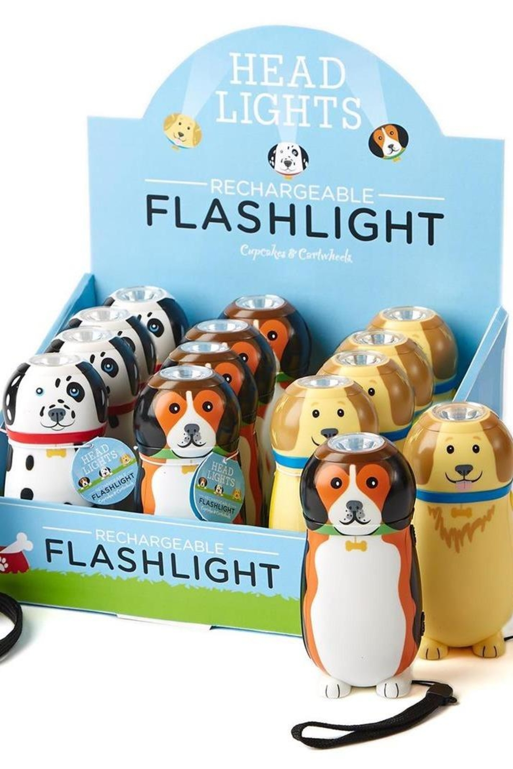 Two's Company Rechargeable Dog Flashlights - Main Image