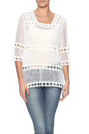 Reckless Angel White Lace Top - Product Mini Image